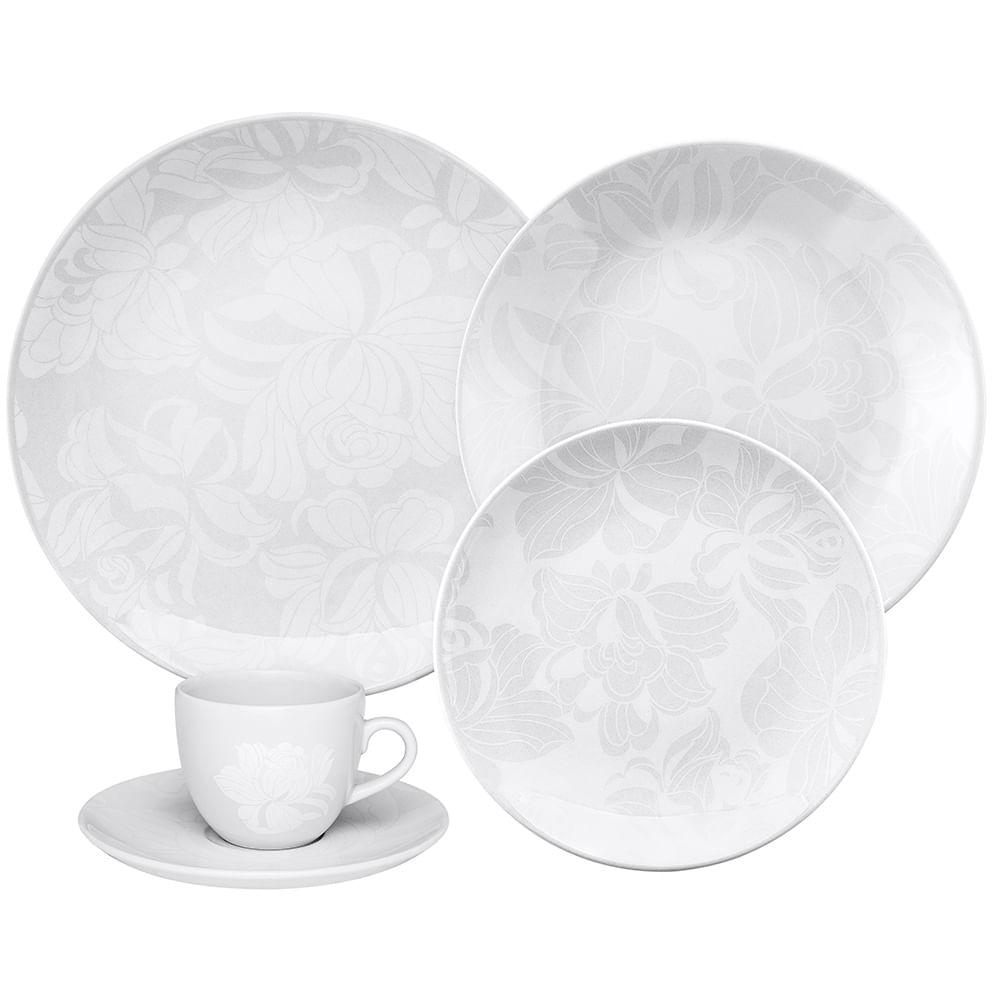 Aparelho De Jantar Coup Blanc Oxford Porcelanas Oxford Porcelanas
