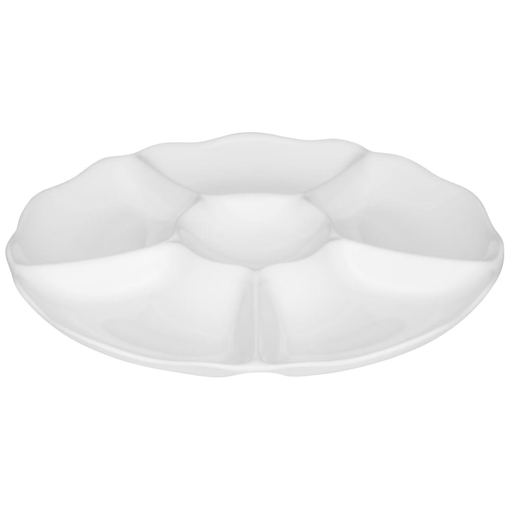 Petisqueira 6pçs Flower - White - Oxford Porcelanas - Oxford Porcelanas 66335e1d305cf