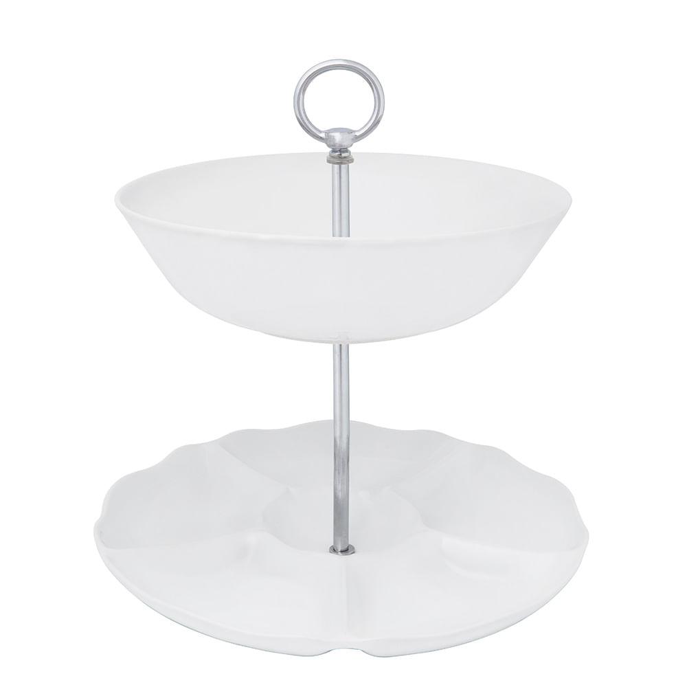 Porta Petisco - Branco - Oxford Porcelanas - Oxford Porcelanas a1d071ac73587