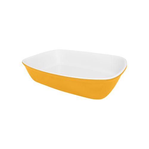 oxford-cookware-travessa-refrataria-bake-bicolor-amarela-pequena