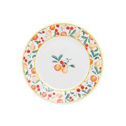 Oxford_Porcelanas_Famingo_Fruits_Prato_Sobremesa