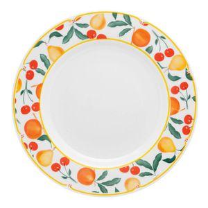 Oxford_Porcelanas_Famingo_Fruits_Prato_Raso